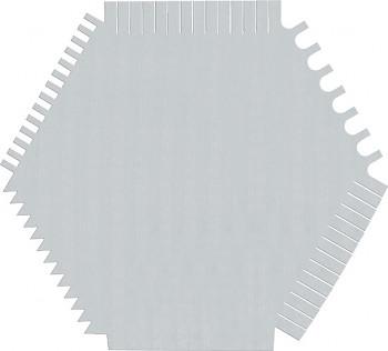 Hřeben špachtle ocelová 06B