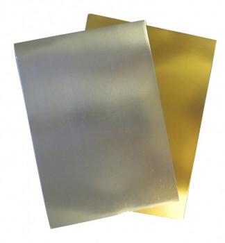 Zlatý papír lesklý A4