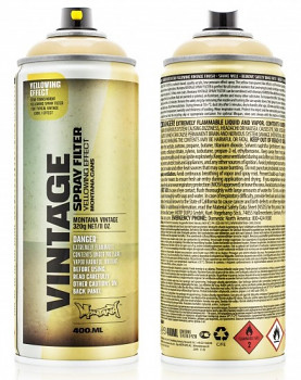 Montana Vintage 400ml – yellow effect