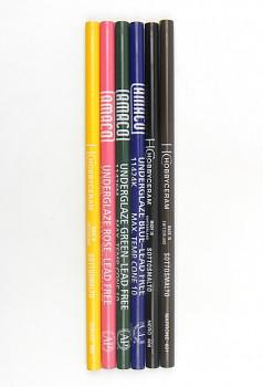 Glazurovací pastelky – sada 6ks