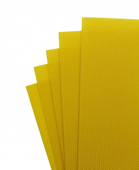 Včelí vosk 5 plátků 21x37cm