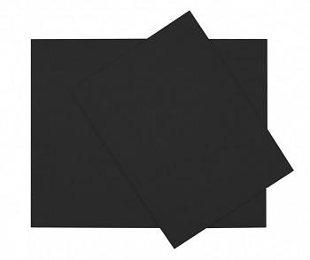 Šepsované plátno na desce černé – různé velikosti