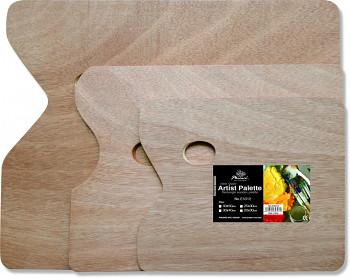 Dřevěná paleta obdélníková 40x50cm/5mm