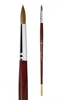Přírodní štětec Kolinsky kulatý - 8 velikostí