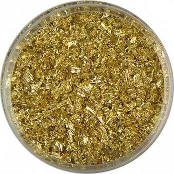 Zlatící vločky zlaté 4g