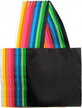 Plátěné tašky dlouhé ucho – různé barvy