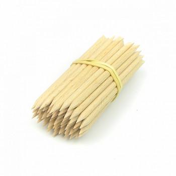 Dřevěné tyčinky ostré 85mm - 1 ks