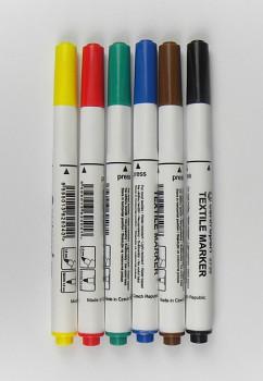 Fix na textil Centropen – různé barvy