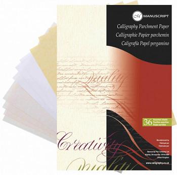 Skicák pro kaligrafii Manuscript A4 - 36 listů 3 odstíny