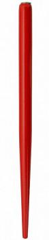 Dřevěná násadka červená lakovaná