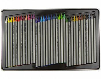 Akvarelové pastelky progresso v laku 36ks