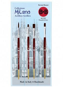 Sada štětců Milano pro akryl