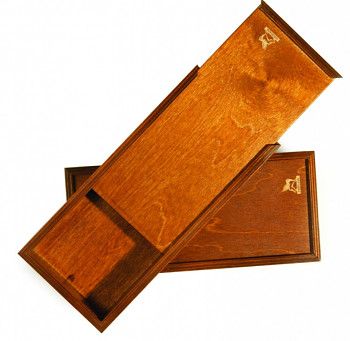 Dřevěná kazeta pro barvy 30x13cm