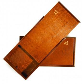 Dřevěná kazeta pro barvy 31x17cm