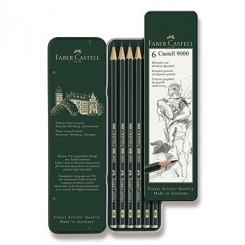 Sada tužek Faber-Castell 6ks v krabičce