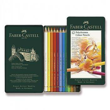 Pastelky Polychromos 12ks Faber-Castell