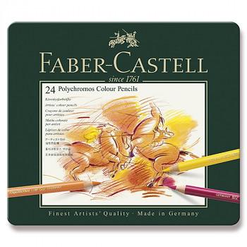 Pastelky Polychromos 24ks Faber-Castell
