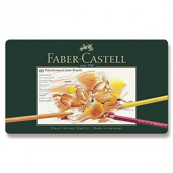 Pastelky Polychromos 60ks Faber-Castell