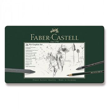 Kreslířská sada Faber-Castell Pitt 26ks