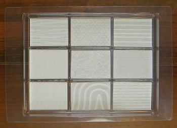 Forma na mýdlo – kvádry se strukturou