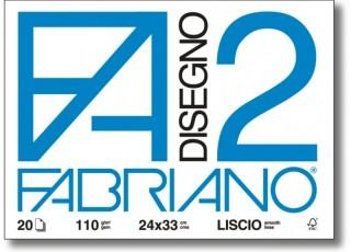 Papír Fabriano Disegno 2 jemný 110g 48x66cm