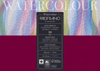 Fabriano Watercolour 200g 18x24cm blok pro akvarel