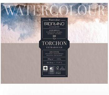 Fabriano Torchon 23x30,5cm 300g blok pro akvarel