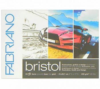 Blok Fabriano Bristol 250g A4