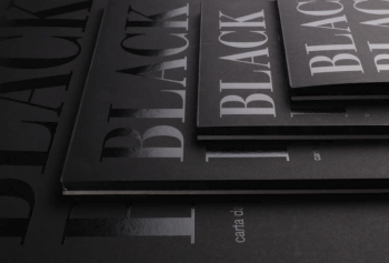 Blok Fabriano Black Black 300g A4