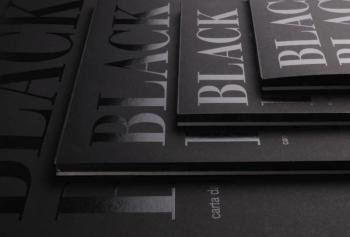 Blok Black Black 300g A3
