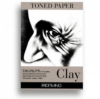 Fabriano toned paper A4 120g jemně šedý skicák