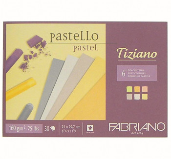 Blok Tiziano soft colour 160g A4