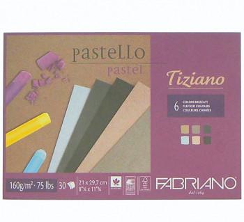Blok Tiziano brizzati colour 160g A4