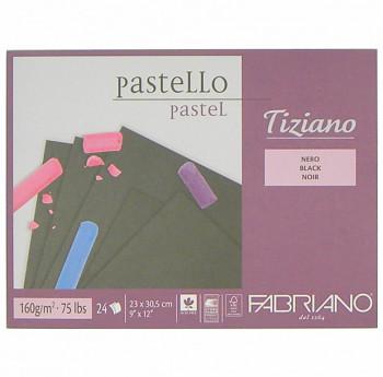 Blok pro pastel Tiziano černý 30,5x41cm 160g