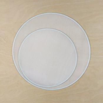 Hedvábné okénko kruh 10cm Ponge 5