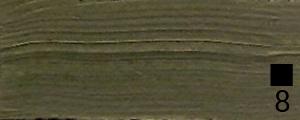 Olejová barva Renesans 140ml – 74 Zem zelená pálená
