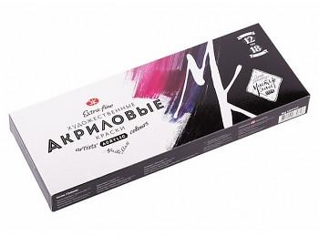 Mistrovské akrylové barvy Nevskaya palitra 12x18ml