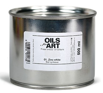 Olejová barva Renesans 500ml – 12 barev