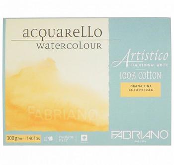 Fabriano Artistico Cold pressed 12,5x18cm 300g blok pro akvarel
