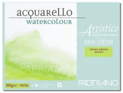 Fabriano Artistico Rough 23x30,5cm 300g blok pro akvarel