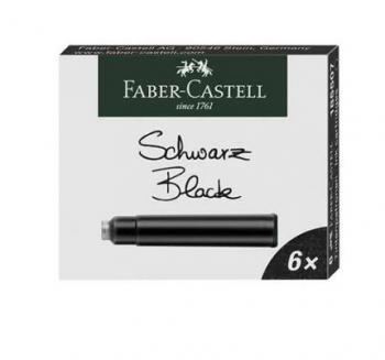 Inkoustové bombičky černé Faber-Castell