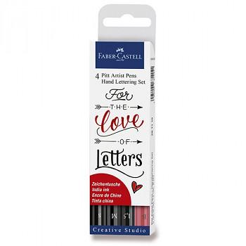 Popisovače F-C Hand lettering 4ks