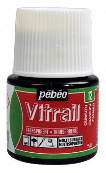 Nevypalovací barvy na sklo Vitrail 45ml – všechny odstíny