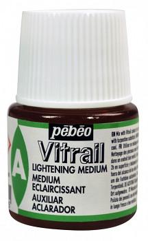 Zesvětlovací medium Vitrail pro barvy na sklo 45ml