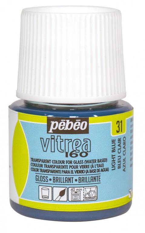 Barva na sklo Vitrea 45ml – 31 modrá světlá