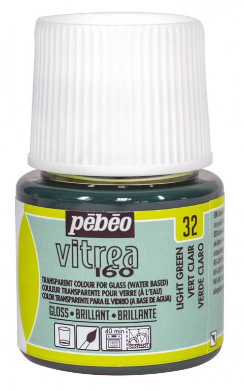 Barva na sklo Vitrea 45ml – 32 zelená světlá