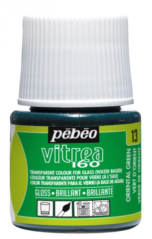 Barva na sklo Vitrea 45ml – 13 zelená orientální