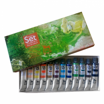 Sada olejových barev Renesans 12x20ml