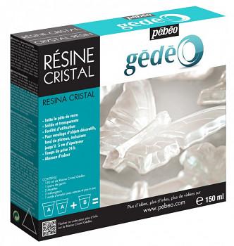 Křišťálová pryskyřice Gédéo crystal resin 750g