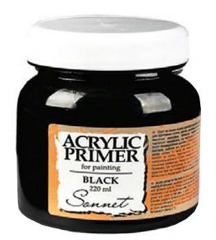 Akrylový šeps Sonnet černý – různé velikosti